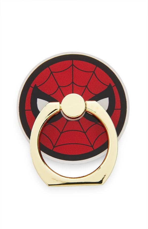 Red Marvel Spiderman Phone Ring