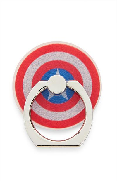 "Roter ""Marvel Captain America"" Handyring"