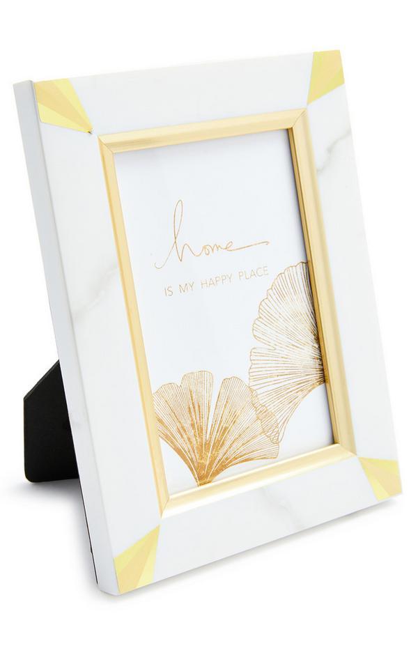 Marble Print Frame
