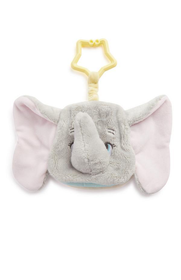 Peluche Dumbo Disney con gancio da appendere