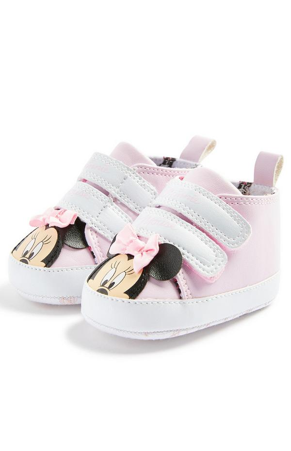 Baby Girl Pink Disney Minnie Mouse Low Tops