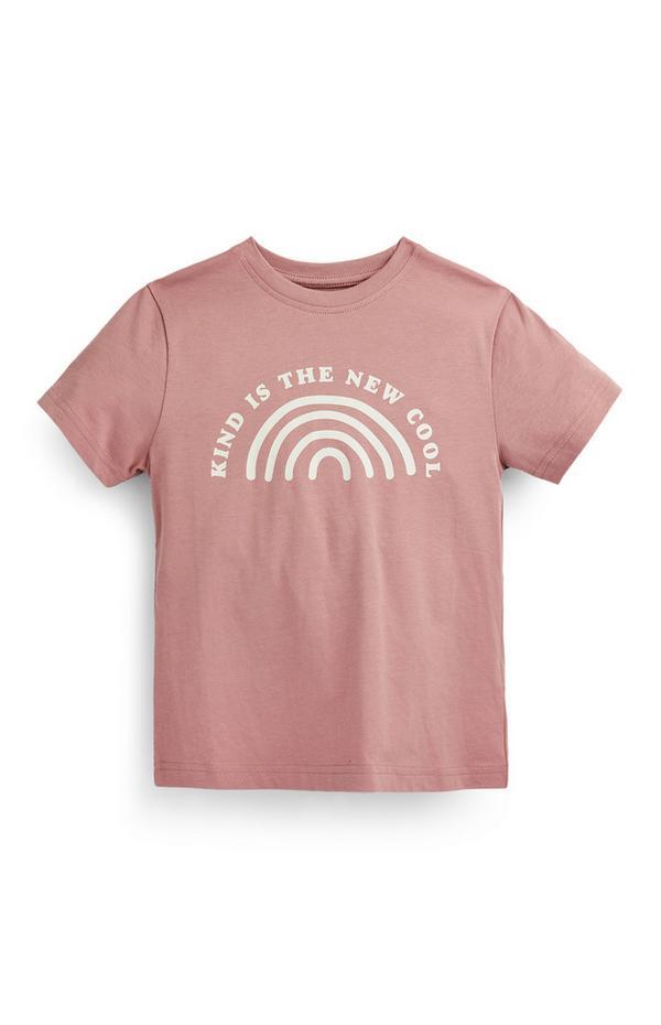 """Marineblaues """"Future Now"""" T-Shirt (kleine Jungen)"""
