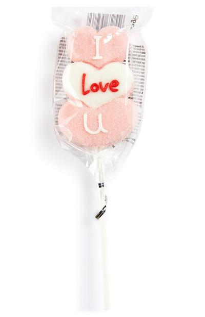 Valentines Day Mallow Stacker Lollipop