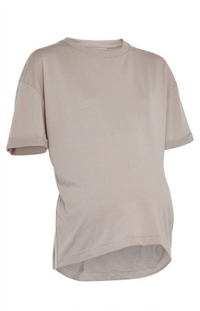 Beiges Umstands-T-Shirt