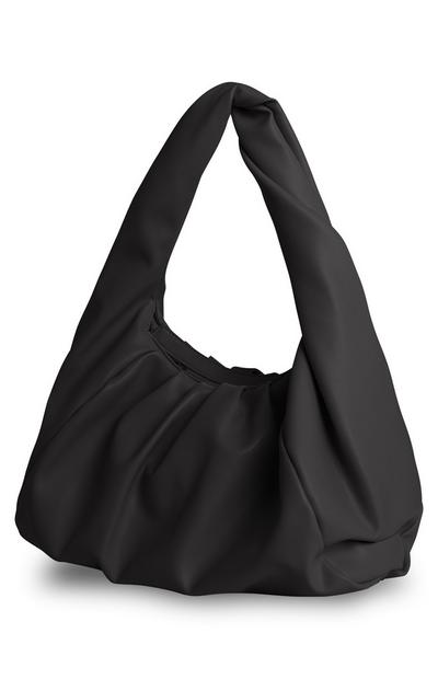 Black Oversized Shoulder Bag