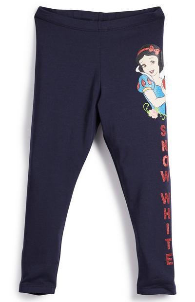Legging bleu marine Snow White fille