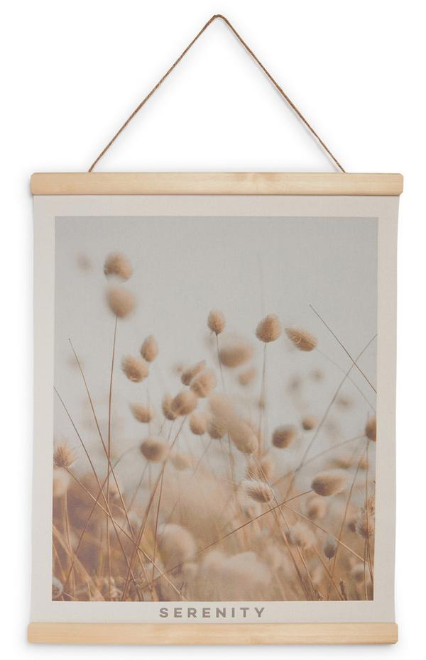 Klein ophangbaar canvas Serenity