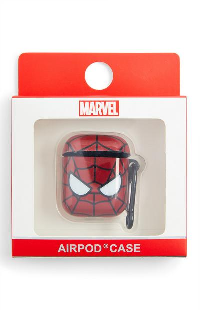 """Rote """"Marvel Spiderman"""" Airpod-Etui"""