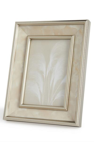 Silver Mother Of Pearl Photo Frame