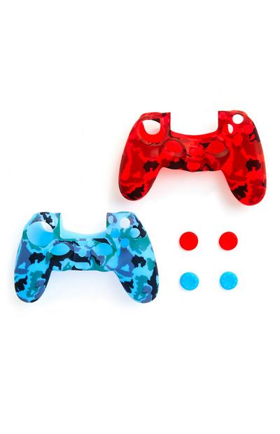 PlayStation Controller Skins Grips 2 Pack