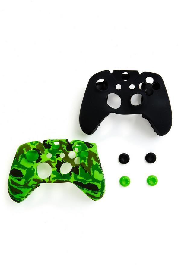 Prevleka za krmilnik in gobice Xbox, 2 kosa