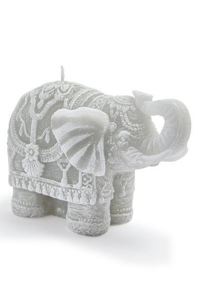 Bougie en forme d'éléphant