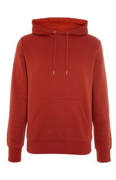 Basic Red Pull Over Hoodie