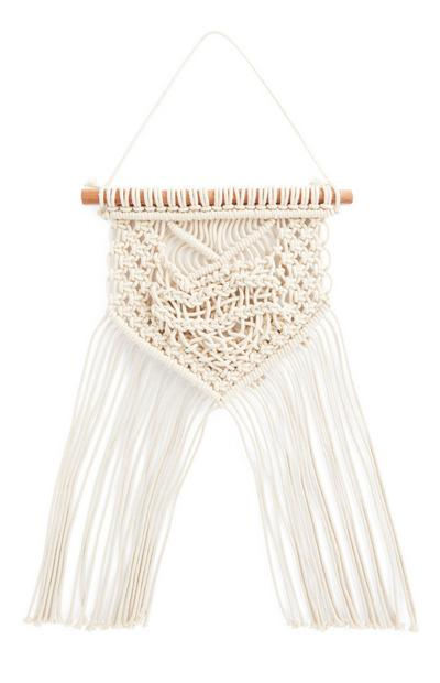 Ivory Small Macrame Wall Hanging