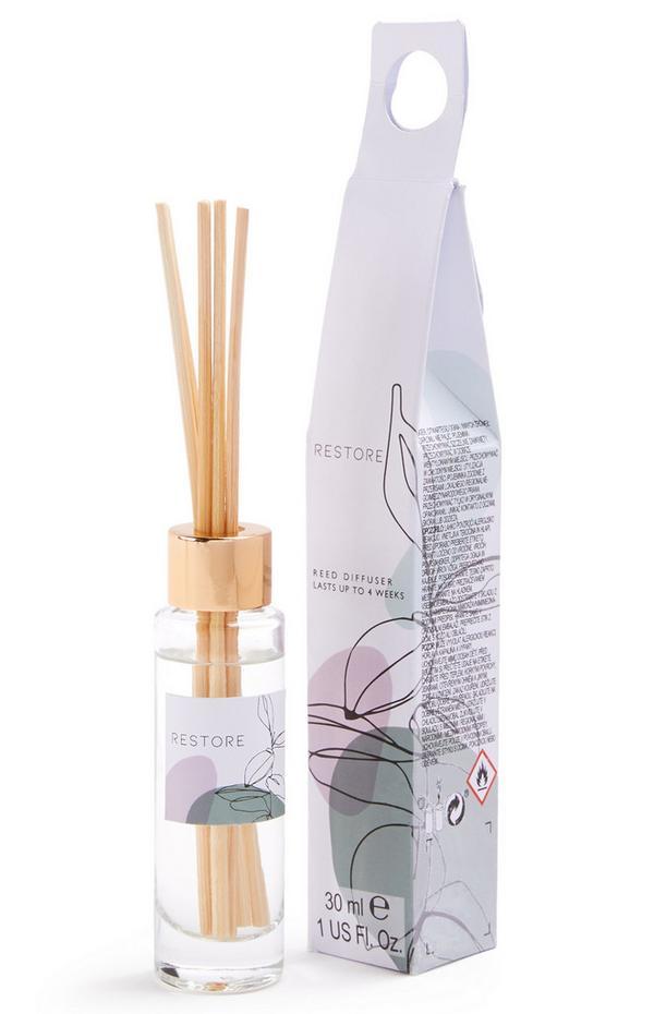 Petit diffuseur de parfum avec bâtonnets à imprimé Restore