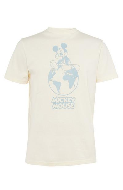 T-shirt ivoire Primark Cares Disney Mickey
