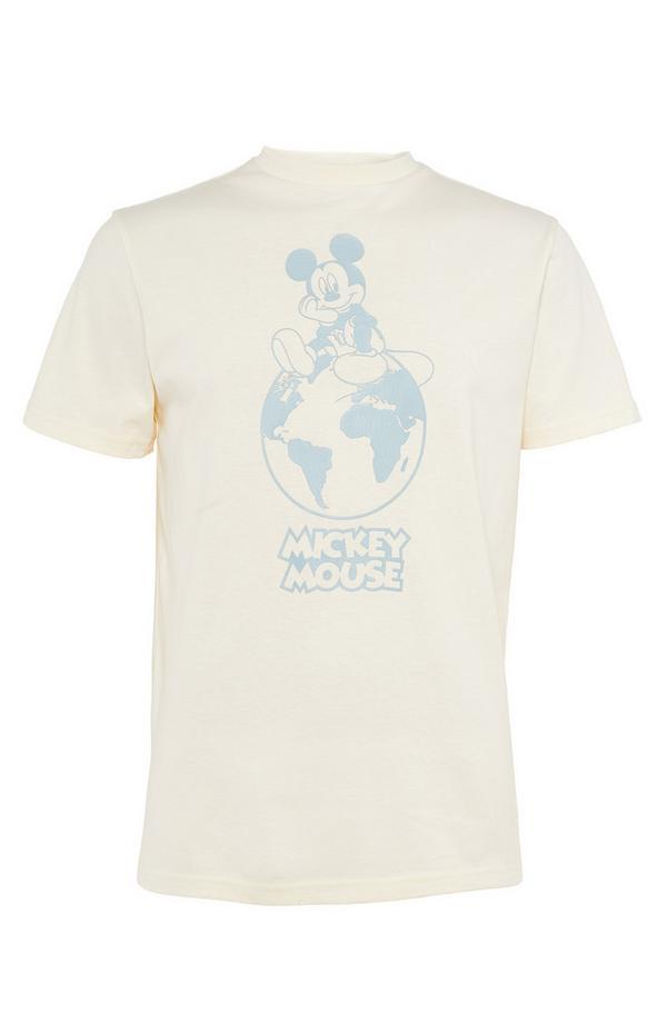 Ivoorwit T-shirt Primark Cares met Disney Mickey