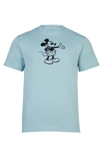 Blauw T-shirt Primark Cares met Disney Mickey Mouse