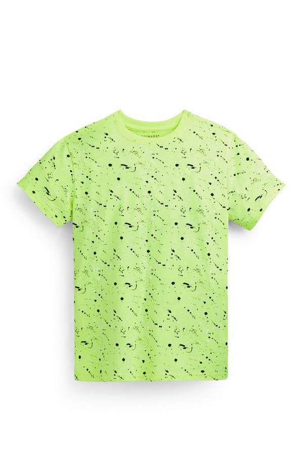 Grünes T-Shirt mit Print (Teeny Boys)