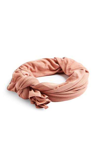 Blush Jersey Knit Scarf