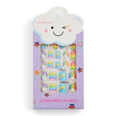 Primark Rainbow Kids Press On Nails