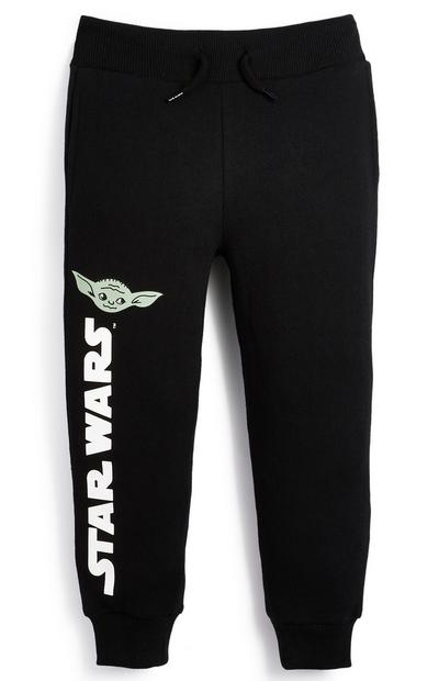 Younger Boy Star Wars Black Joggers