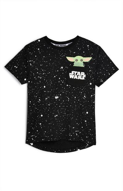Younger Boys Star Wars The Mandalorian Paint T-Shirt