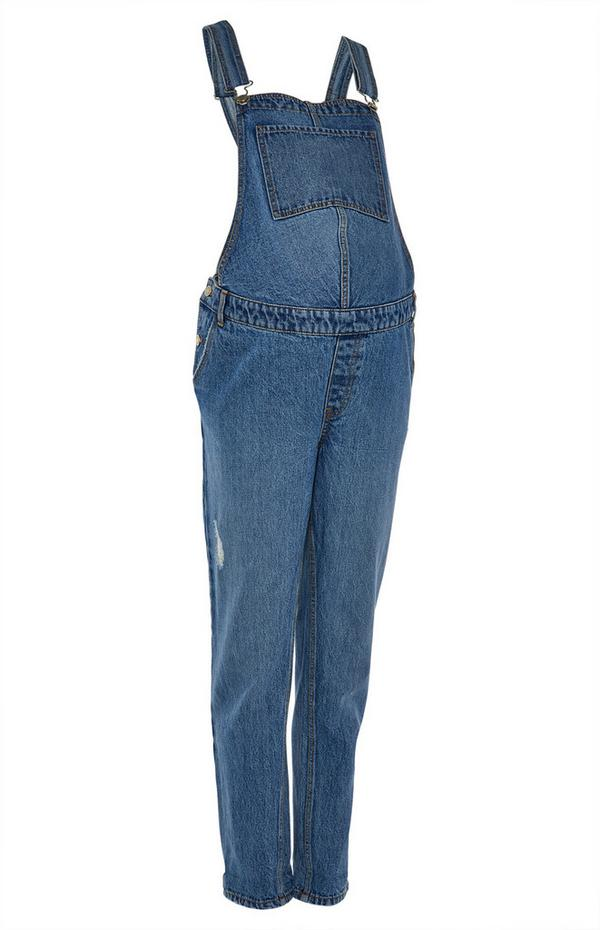 Maternity Over Bump Dungarees