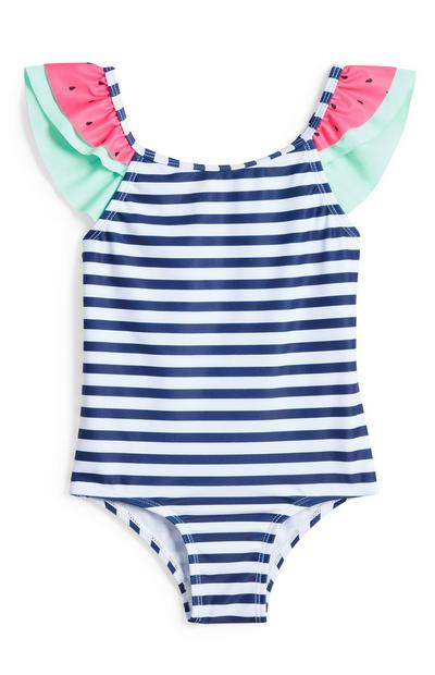 Younger Girl Watermelon Swimsuit