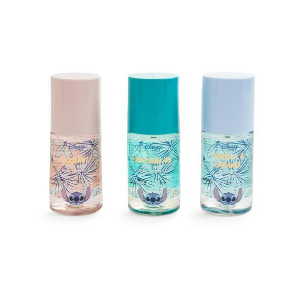 Pack 3 sprays corpo Disney Lilo and Stitch