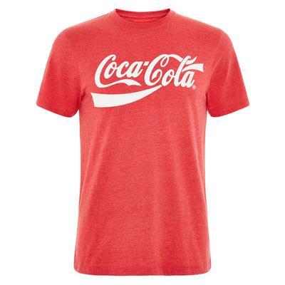Rdeča majica s potiskom Coca-Cola