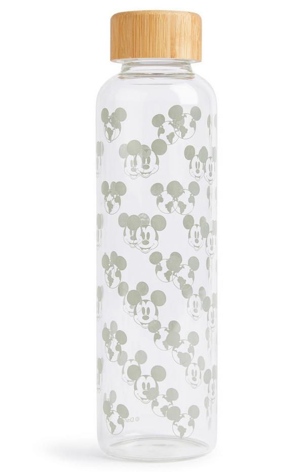 Glazen waterfles Primark Cares met Disney Mickey Cares