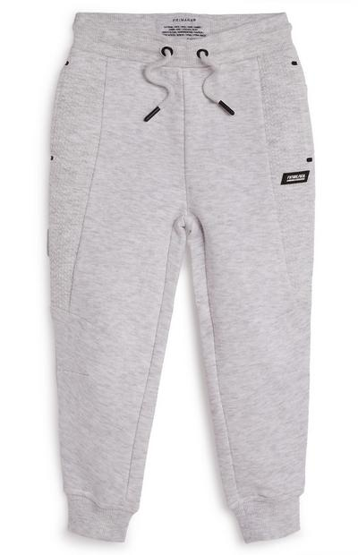 Younger Boy Honeycomb Panel Joggers