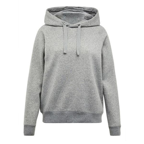 Sudadera gris con capucha Recover