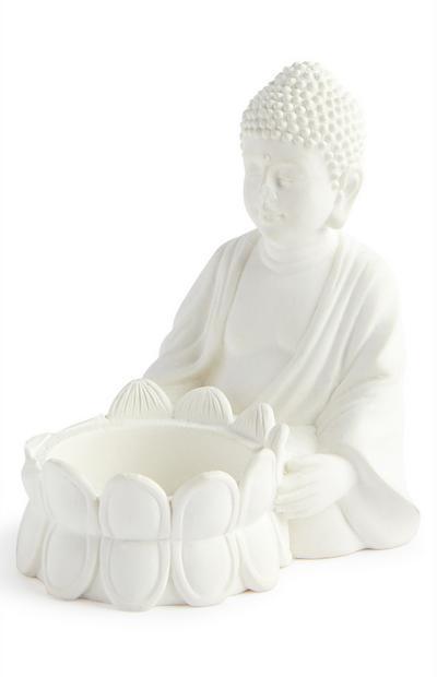 Kleine theelichthouder boeddha