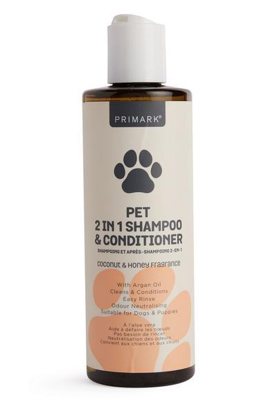 2-in-1-shampoo en -conditioner voor huisdieren