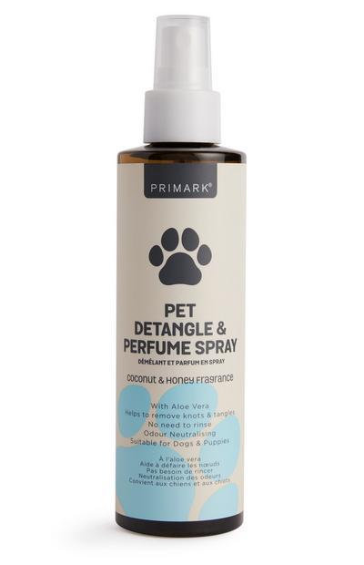 Spray démêlant parfumé pour animal de compagnie