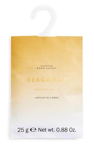 Bergamot And Amber Printed Room Sachet