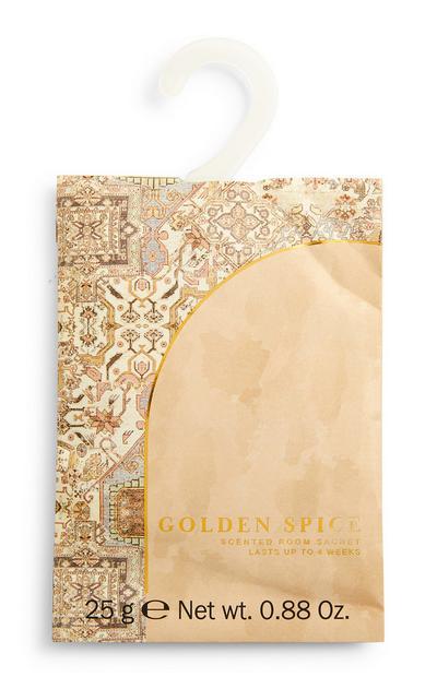 Golden Spice Printed Room Scent Sachet