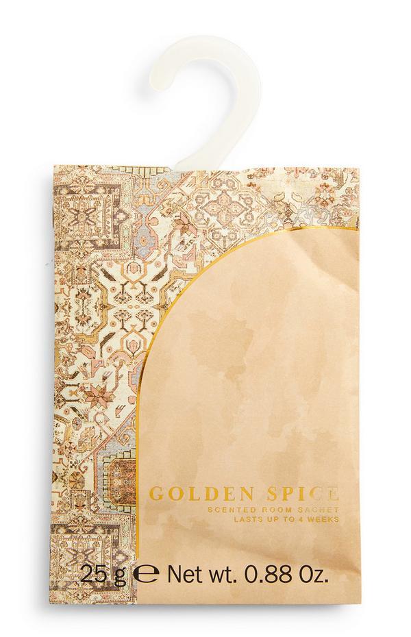 Geurzakje met print Golden Spice