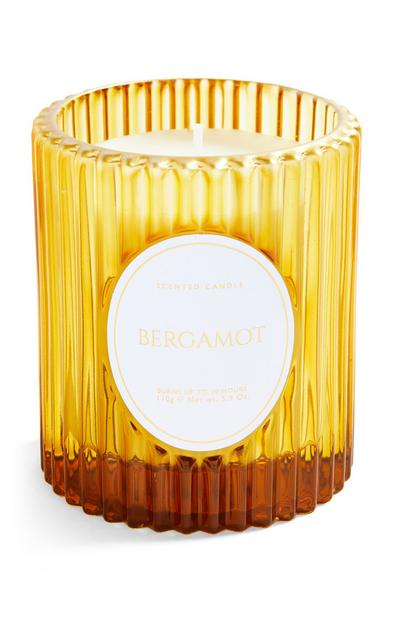 Bergamot Fluted Glass Votive