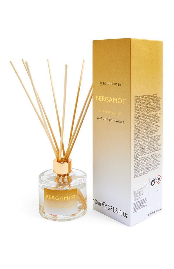 Diffuseur de parfum avec bâtonnets à imprimé Bergamot 100 ml