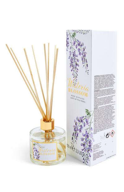 Wisteria Blossom Printed Reed Diffuser 100ml