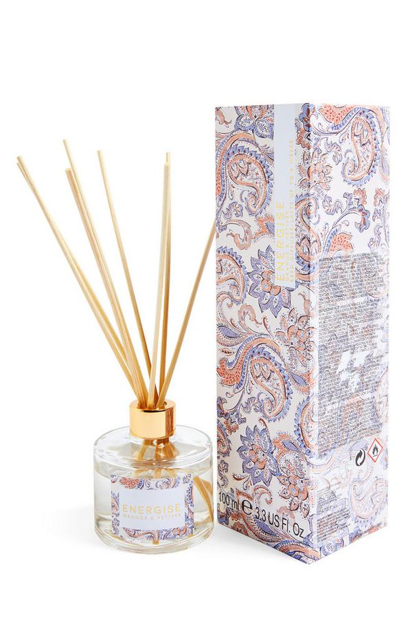 Petit diffuseur de parfum avec bâtonnets à imprimé Energise 100 ml