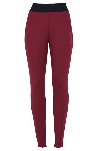 Red Activate Sports Leggings