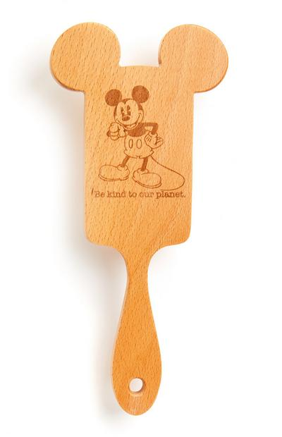 Cepillo rectangular de madera de Mickey Mouse de Disney