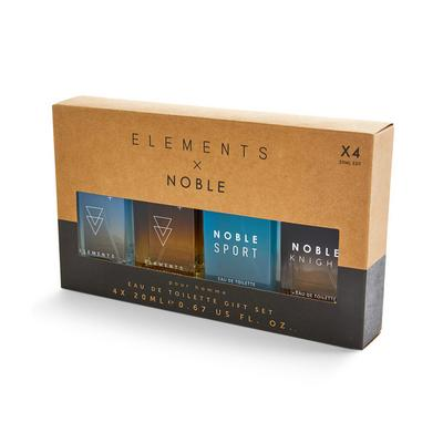 Elements Noble Eau De Toilette Giftset 4 Pack