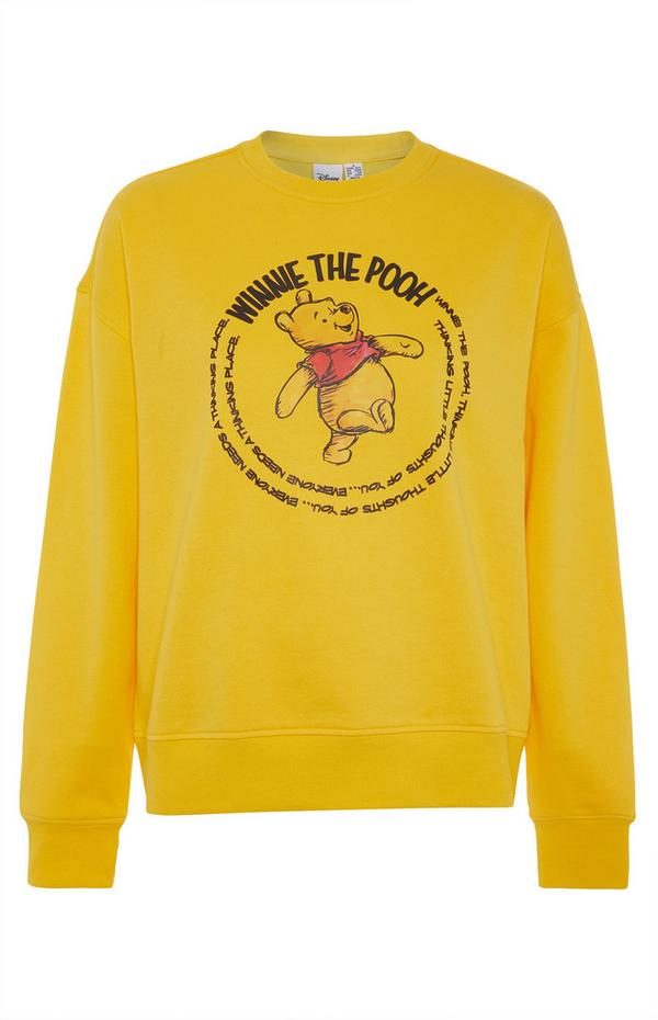 Felpa gialla Winnie The Pooh