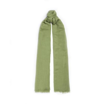 Cachecol lã premium verde