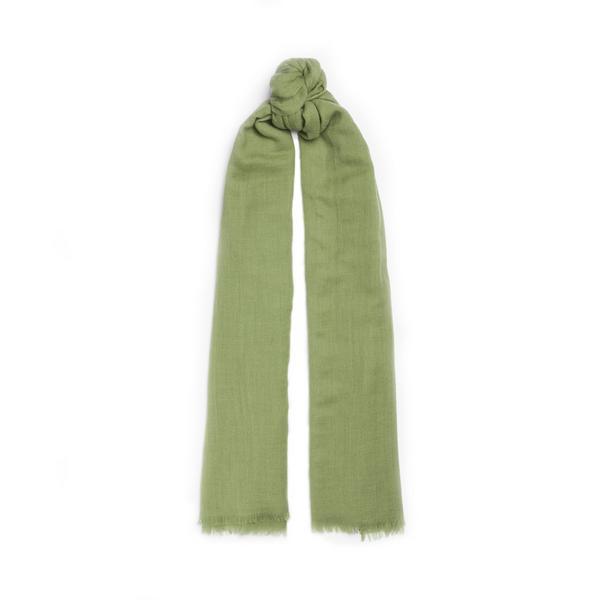 Green Premium Wool Scarf